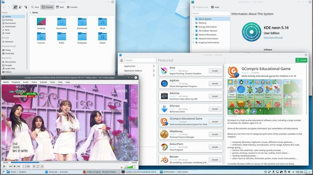 Comparison of GNU/Linux desktop environments - LinuxReviews