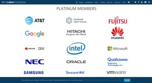 The linux foundation platinum members.jpg